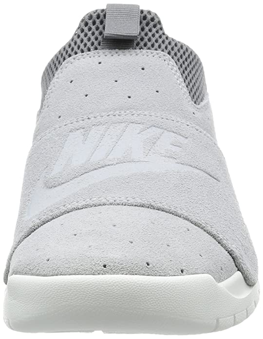 Nike Benassi SLP, Zapatillas Bajas Unisex Adulto, Gris (Wolf Grey/Cool Grey/Off-White/Wolf Grey), 45 EU