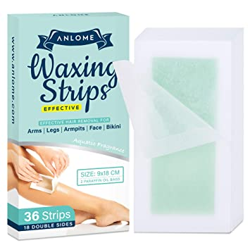 Amazon Com Anlome Body Wax Strips For Face Legs Underarms