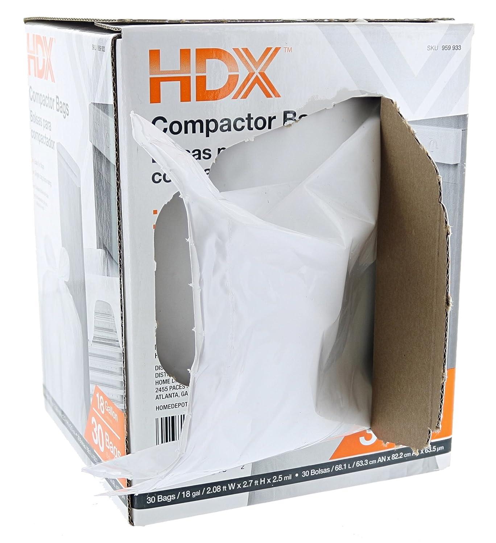 Hdx Outdoor Trash Bags Home Depot ad360b851492e
