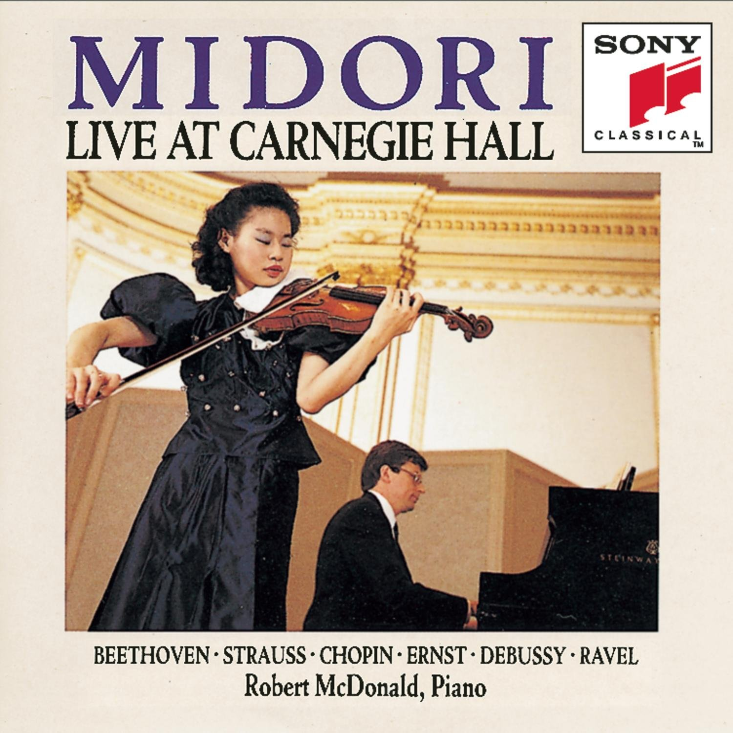 Midori - Live at Carnegie Hall by Alliance