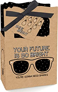 product image for Big Dot of Happiness Bright Future - Graduation Party Favor Boxes - Set of 12