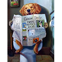 "Buffalo Games - Dog Gone Funny - 750 Piece Jigsaw Puzzle Multicolor, 24""L X 18""W"