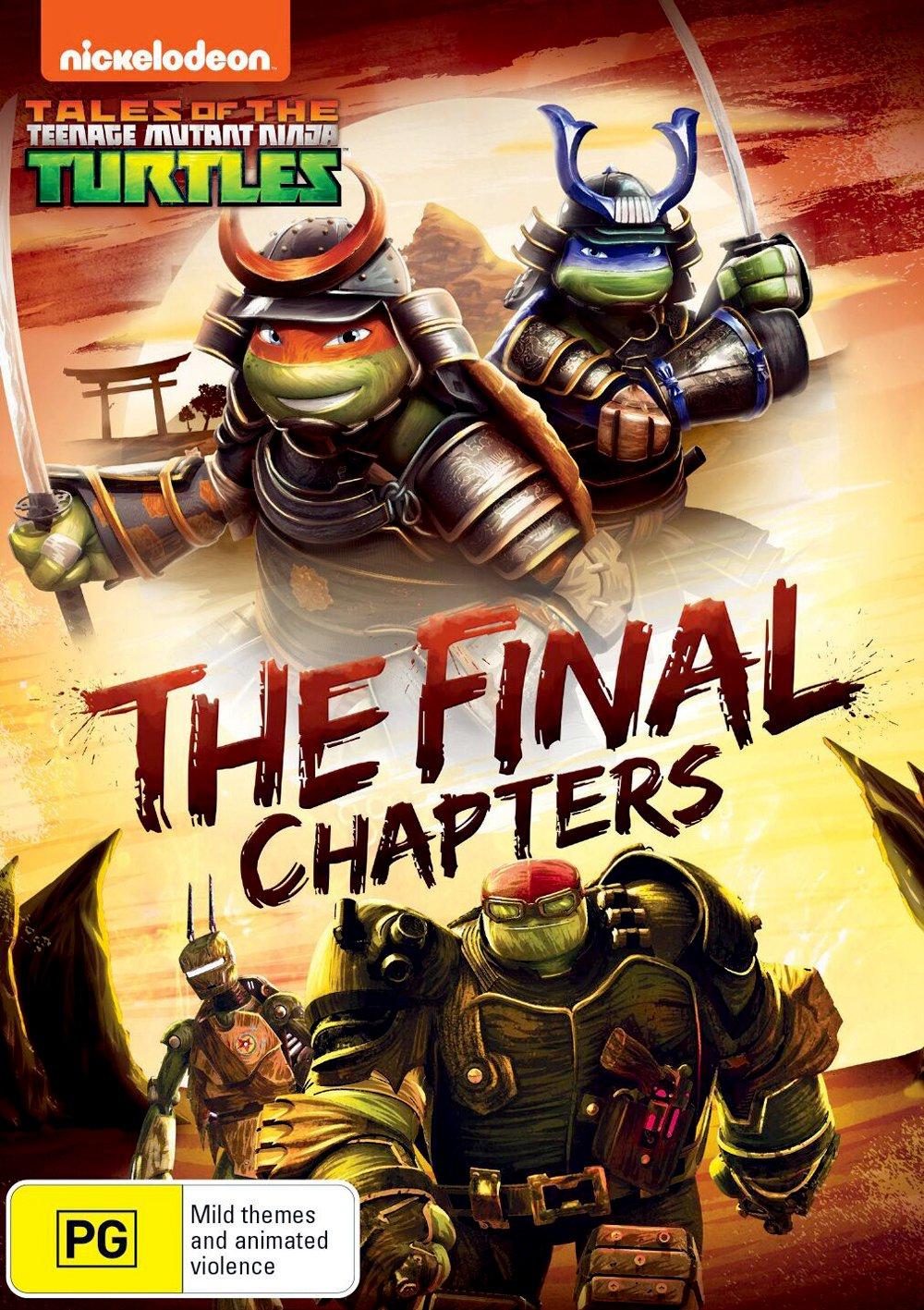 Amazon.com: The Final Chapters [DVD]: Teenage Mutant Ninja ...