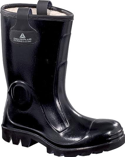 Delta plus botas - Juego bota seguridad ecrins negro talla 43(1 par)