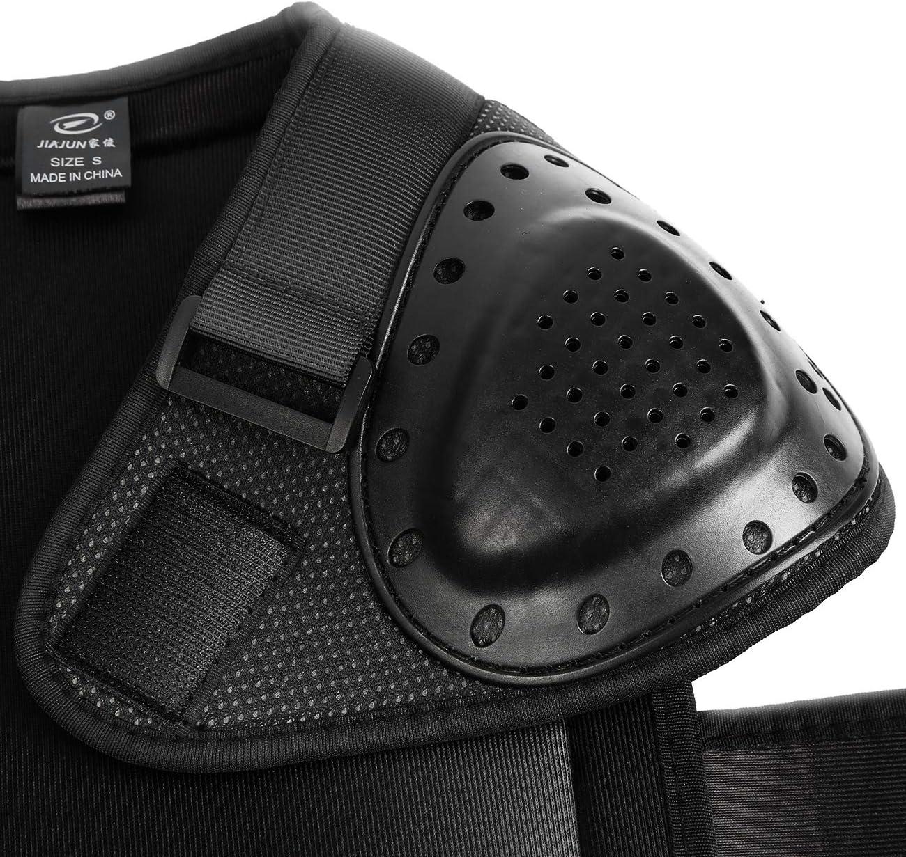 Samger Kinder Körperschutz Brust Rücken Wirbelsäule Protector Weste 5 18 Jahre Alt Für Skifahren Reiten Motocross S Auto