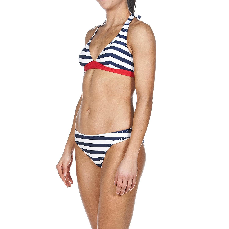 Arena–Bikini Neck Holder strisce Coppa B, Donna