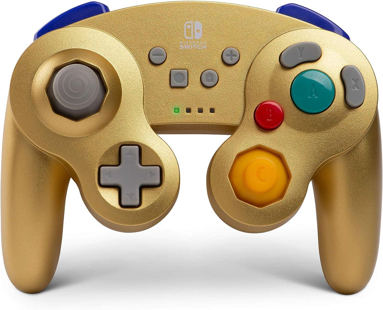 Mando Inalámbrico Gamecube, Color Morado (Nintendo Switch)