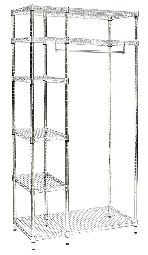 Klipick - Perchero con estantes portaobjetos. De Acero ...
