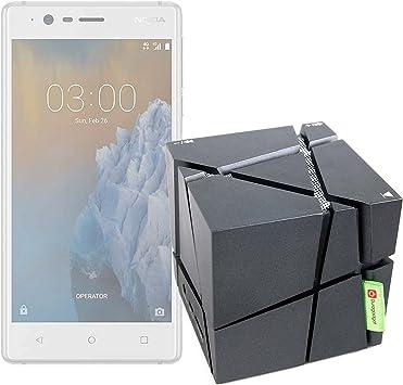 DURAGADGET FANTÁSTICO Altavoz Inalámbrico Portátil para Smartphone Blackberry Q10 PRD-53409-001, Nokia 3 TA-1032 DS ES PT- con Luces De Colores: Amazon.es: Electrónica