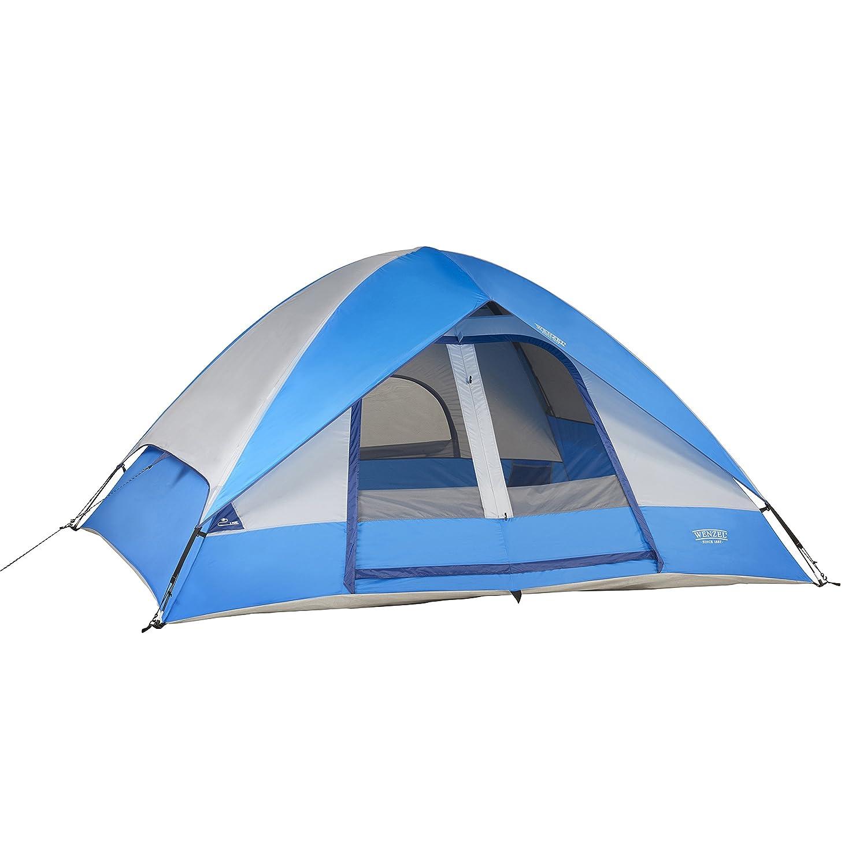 Wenzel Pine Ridge Person  sc 1 st  Amazon.com & Amazon.com : Wenzel Pine Ridge - 10u0027 x 8u0027 - 2 Room Family Tent ...