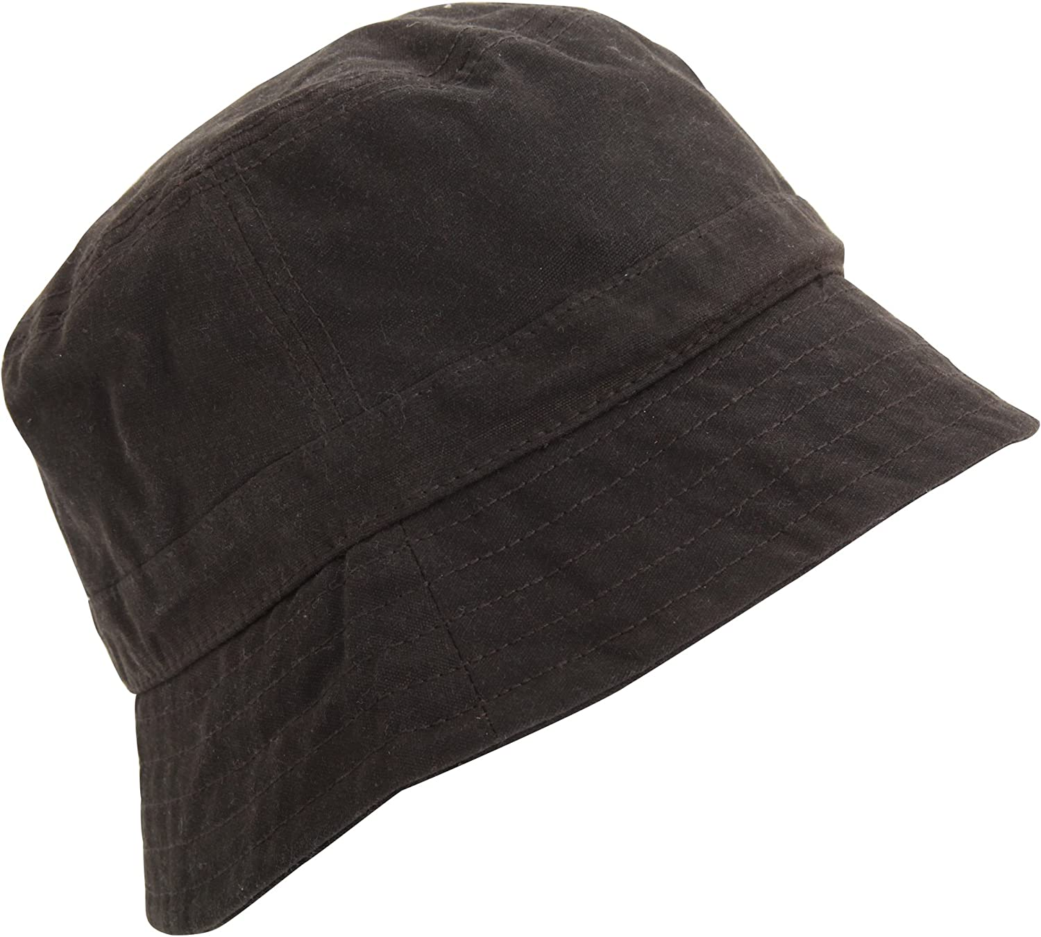 Beechfield Mens Waxed Water Resistant Bucket Hat