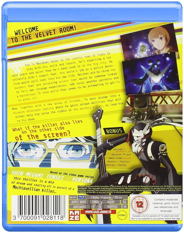 Amazon com: Persona 4: The Animation - Volume 1: Movies & TV