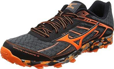 Mizuno Wave Hayate 3, Zapatillas de Running para Asfalto para Hombre, Negro (Dark Shadow/Clownfish/Black), 39 EU: Amazon.es: Zapatos y complementos