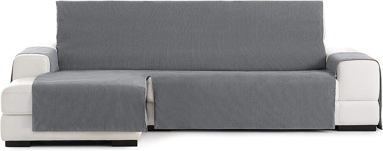 Funda chaisse Longue práctica Rabat 240cm Color 06/,Gris Oscuro, Izquierda Vista Frontal