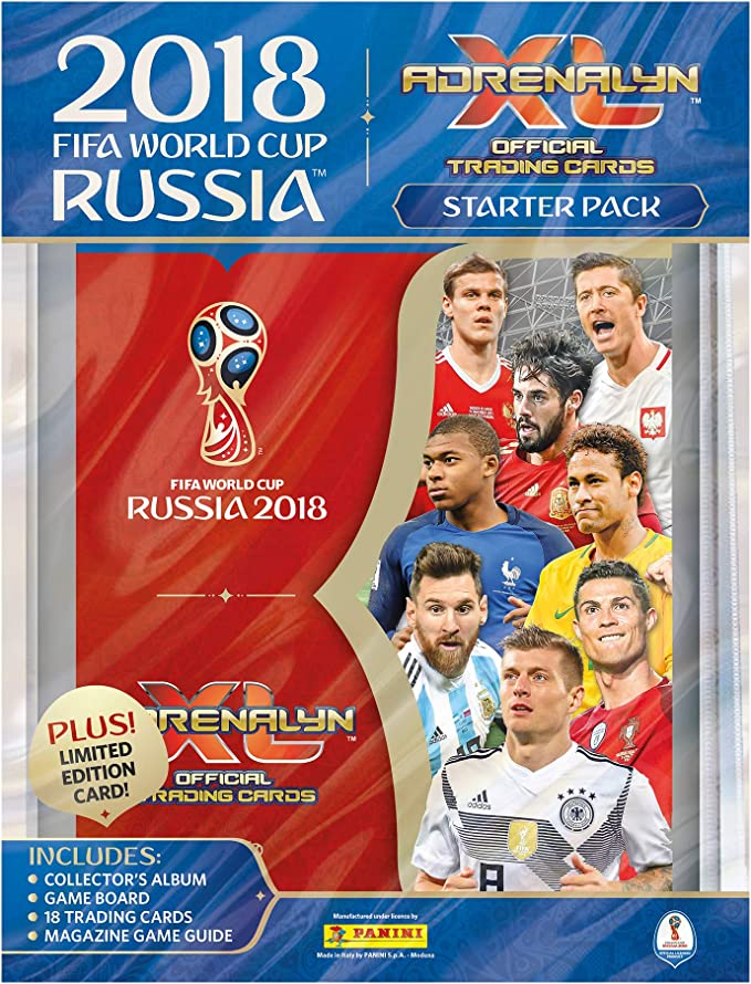 Panini Adrenalyn World Cup Russia 2018 todos los 40 fans favorite completamente complete