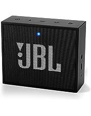 JBL GO+ kleine Soundbox, tragbarer Bluetooth-Lautsprecher, bis zu 5 Stunden kabellos Musik streamen mit nur einer Akku-Ladung, schwarz