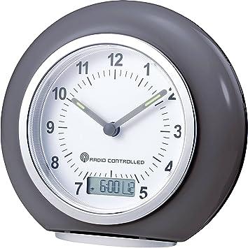 CE Funk Wecker RC692 Grau Alarmzeiten 1 Fluoreszierend: Amazon.de ...