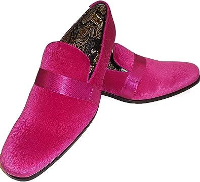 AM 6660 Mens Hot Pink Fuschia Fancy