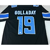 $109 » Kenny Golladay Signed Autographed Black Football Jersey with JSA COA - Detroit Lions Great - Size XL