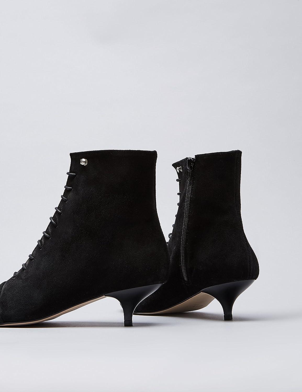 FIND Stiefel Damen Stiefel FIND mit Kitten-Heel Schwarz (schwarz) 6cc623