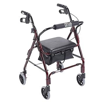 Amazon.com: Drive Medical go-lite – Andador con asiento ...