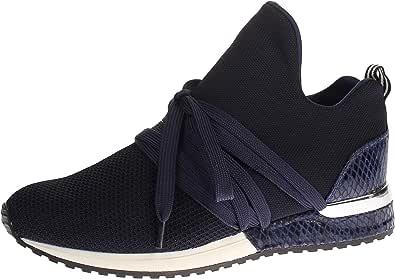 Mujeres Zapatos Planos Black Negro, (Black) 1804189-4001