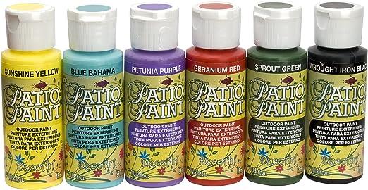 Amazon Com Decoart Dask276 Patio Paint Sample Pack