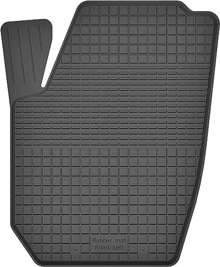 Ko Rubbermat 1 Stück Gummimatte Fußmatte Fahrer Geeignet Zur Toyota Hilux Vii Bj Ab 2005 Ideal Angepasst Auto