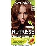 Garnier Nutrisse Haircolor 535 Medium Golden Mahogany Brown Chocolate Caramel