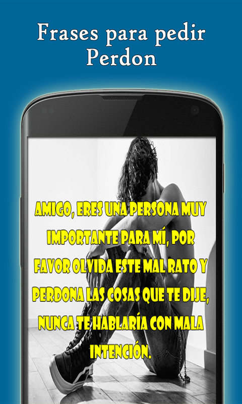 Frases Para Pedir Perdon Amazones Appstore Para Android
