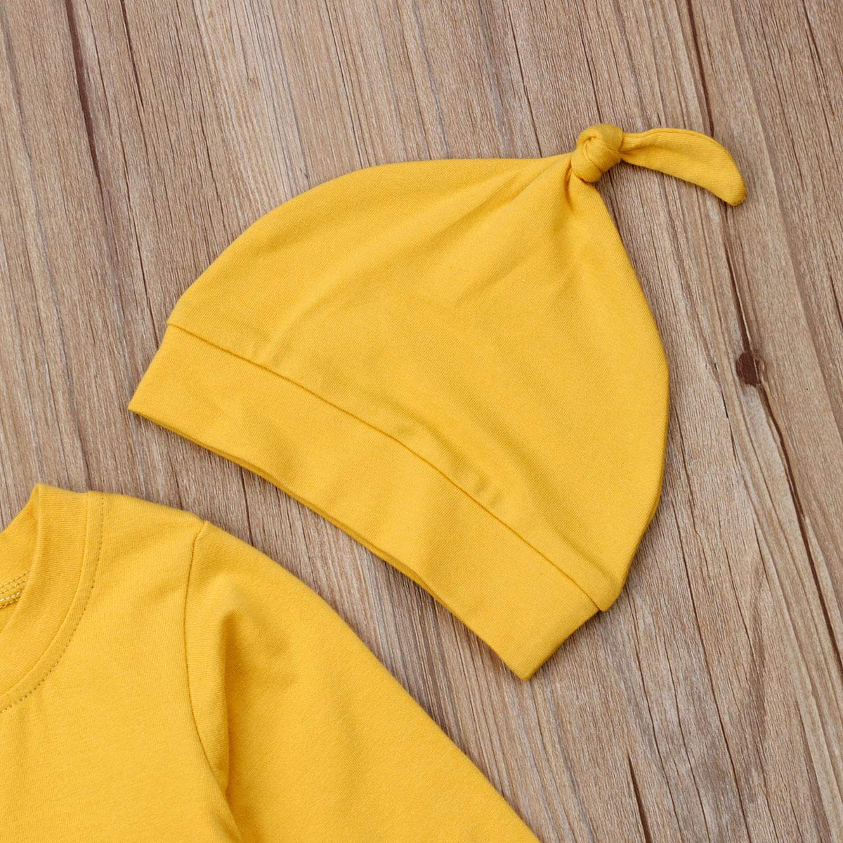 Newborn Kids Baby Boys Cute Solid Color Long Sleeve Jumpsuit Romper Top Outfits Clothes