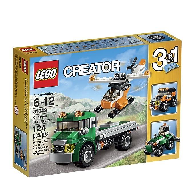 Amazon Lego Creator Chopper Transporter 31043 Toys Games