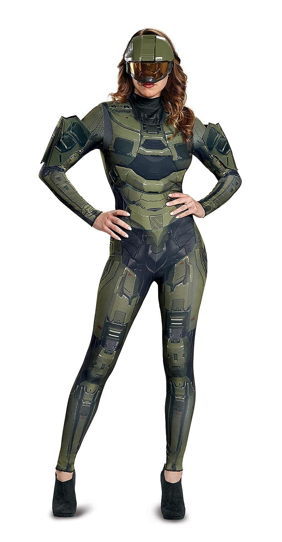Amazon.com: Disfraz de mujer Master Chief adulto hembra ...