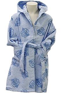 Gabel Paw Patrol Albornoz de Rizo, 100% algodón, Azul Claro