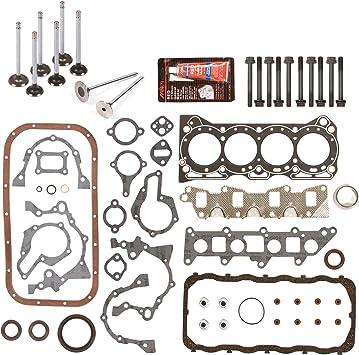 Fits 86-95 Suzuki Samurai Swift Sidekick 1.3L SOHC Engine Re-Ring Kit G13A