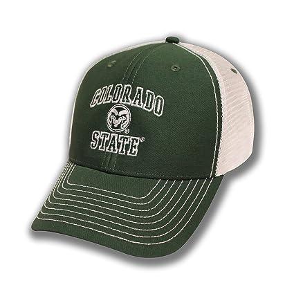 8e8046dfae8 Amazon.com   NCAA Colorado State Rams Adult Unisex Sideline Trucker ...