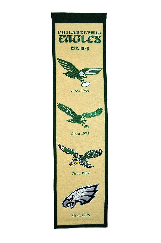 Amazon.com : NFL Philadelphia Eagles Heritage Banner : Sports Fan ...