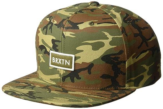 140caa46f14 Brixton Men s Rift II Medium Profile Adjustable Snapback Hat