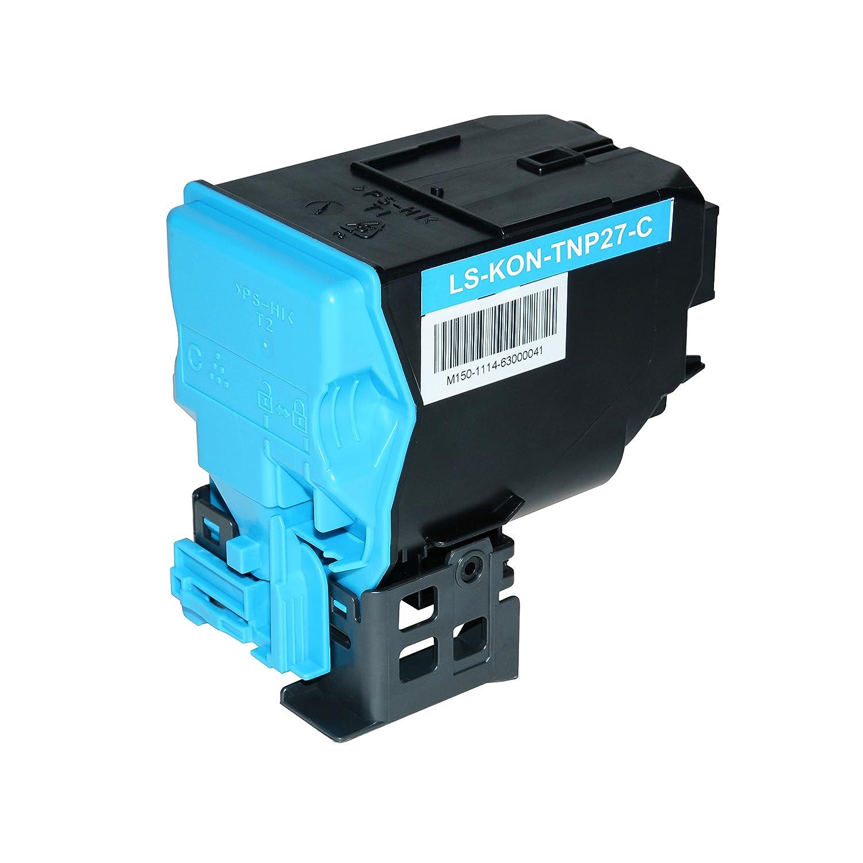 Toner kompatibel für Konica TNP27 Minolta Bizhub C25 - A0X5453 TNP-27K - Cyan 4.500 Seiten