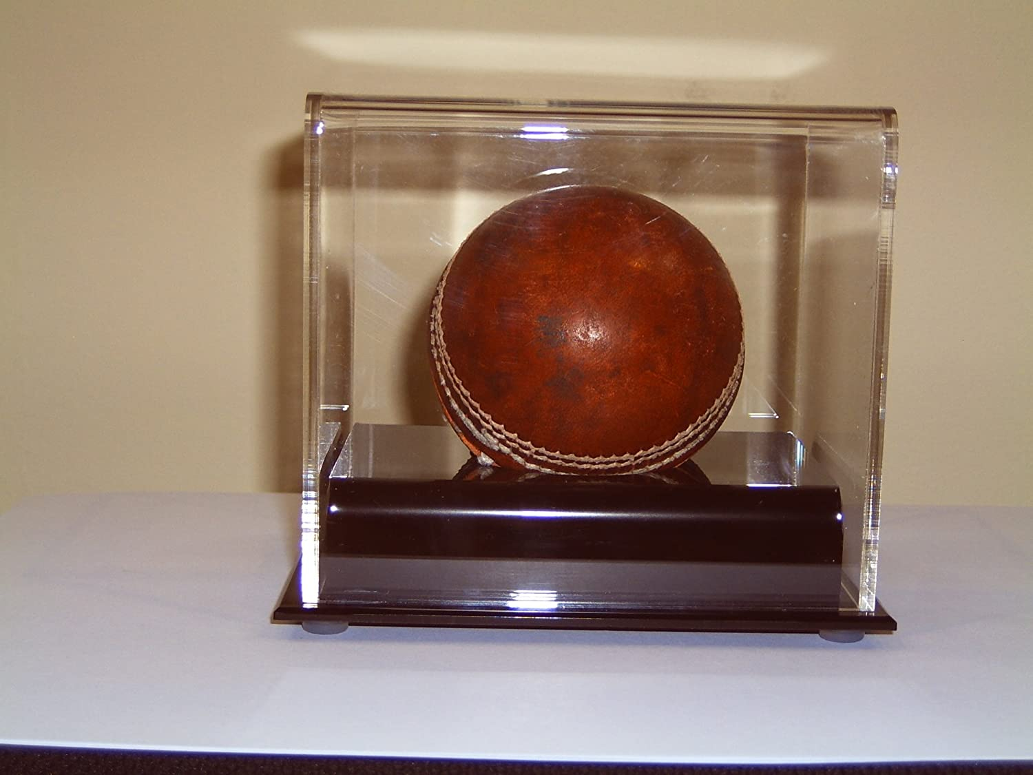 ACRYLIC PERSPEX FOOTBALL PROGRAMME DISPLAY CASE UV PROTECTION FOR VALUABLE ITEMS
