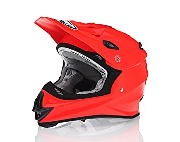 Suomy sólido Señor Jump Motocross casco de moto, color naranja
