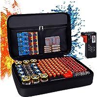Balaperi Hard Battery Organizer Storage Box