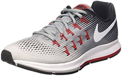 timeless design 876b4 f9002 Nike Air Zoom Pegasus 33, Running Homme, Multicolore (Stealth/Pure Platinum/