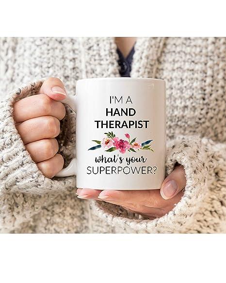 Amazon.com: Taza de terapeuta de mano, regalo para terapeuta ...