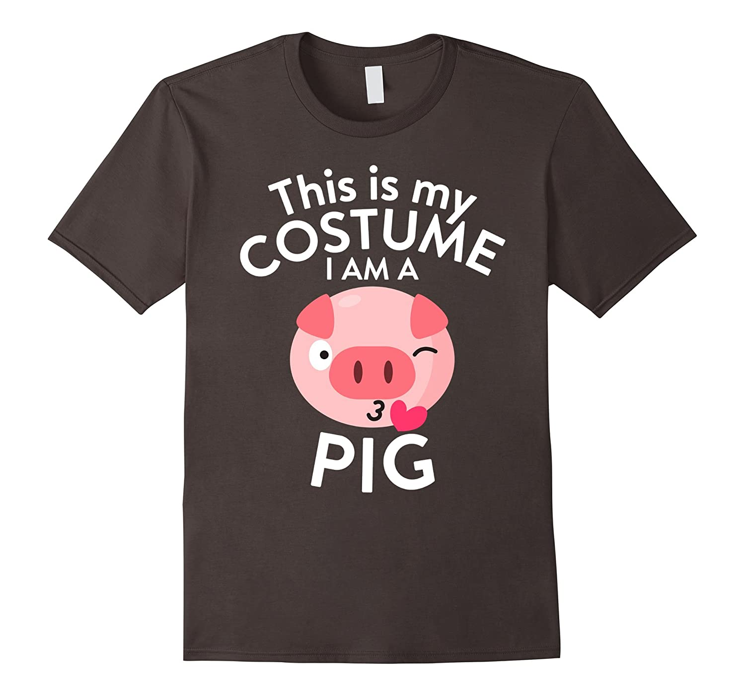 This Is My Costume I'm A Pig T-shirt Pig Lovers-AZP