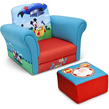 Amazon Com Delta Children Upholstered Chair Disney