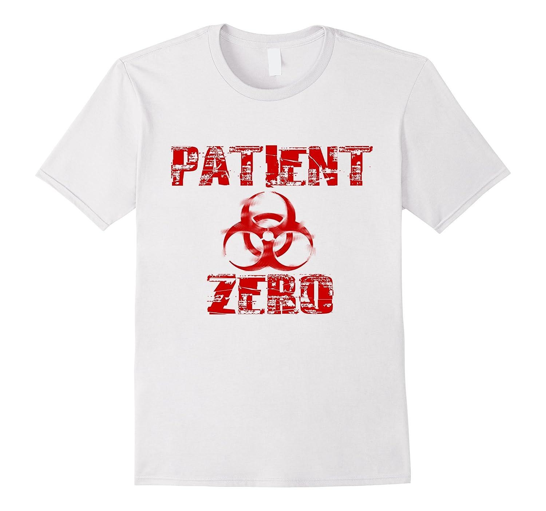 Zombie Apocalypse Patient Zero Tshirt | Halloween Zombie-FL