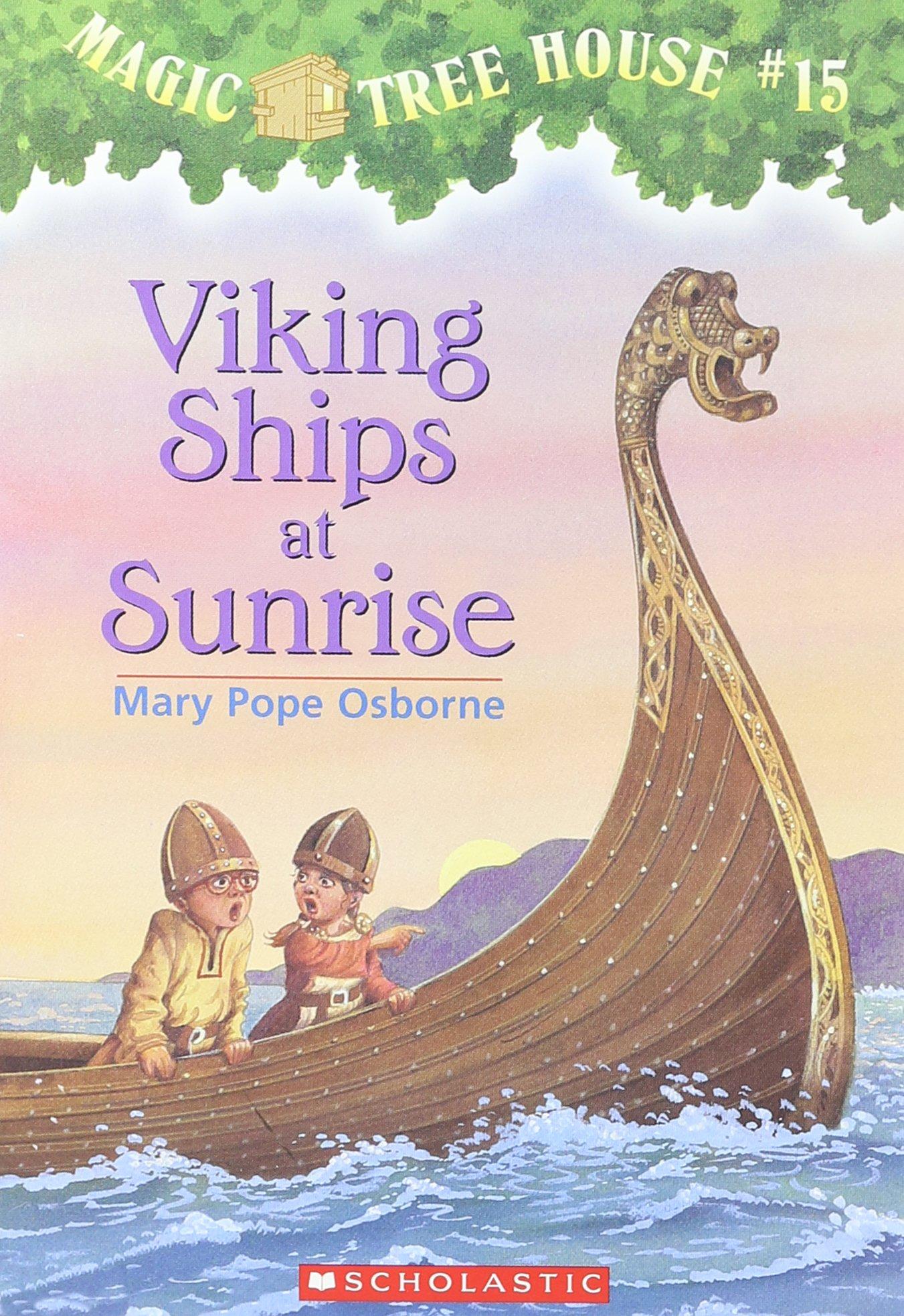 Viking Ships Sunrise Magic House product image