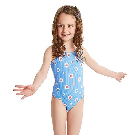 2147b1d00 Zoggs Bañador para niñas Vacaciones Bañador  Amazon.es  Deportes y ...