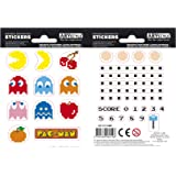 Pac-Man - Labyrinth - Vinyl Stickers - Fully Licensed